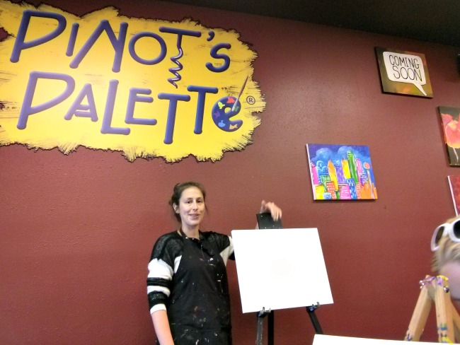 Pinots Palette Lakewood Dallas