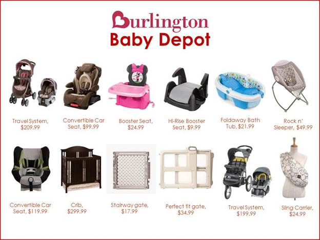 Nov 30, · Recommended Reviews for Baby Depot At Burlington Coat Factory Your trust is our top concern, so businesses can't pay to alter or remove their reviews. Learn more.3/5(10).