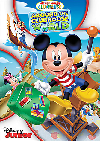 Mickey Mouse Clubhouse: Around the Clubhouse World DVD