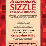 Grapevine Mills Summer Sizzle Fashion Preview #giveaway