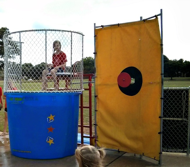 Family Fun Day Dunking Booth
