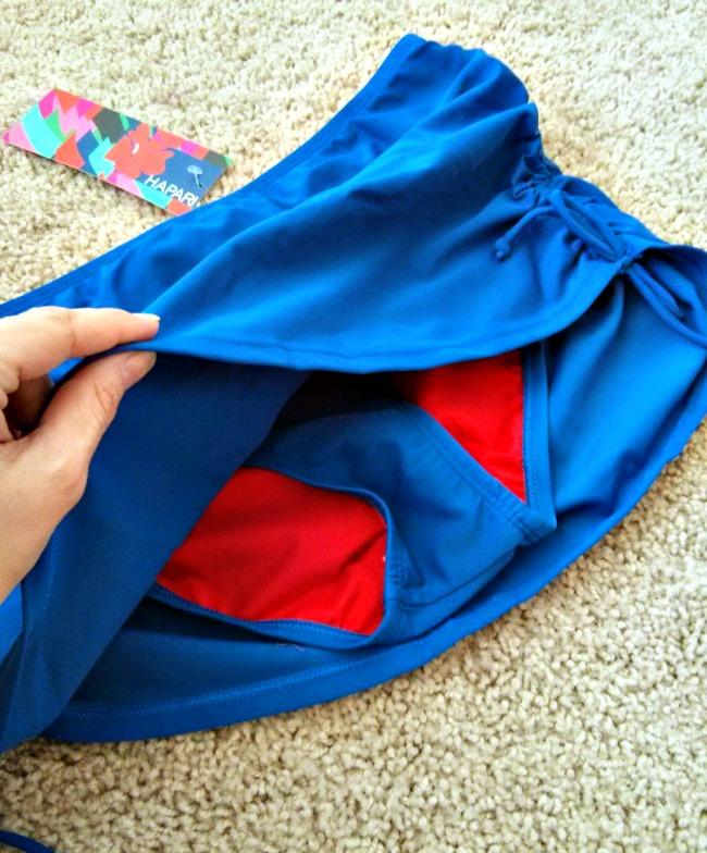 Hapari Swimwear Swim Skirt with Bottoms - Maternity