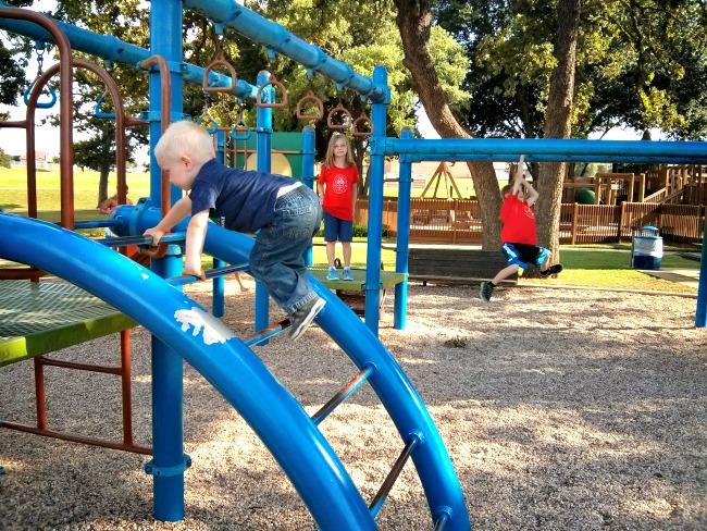 Unity Park small playground