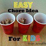 Easy Chore Idea for Kids