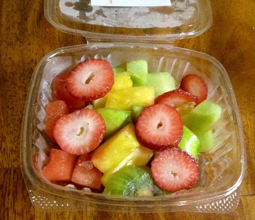 Greenling seasonal fruit salad
