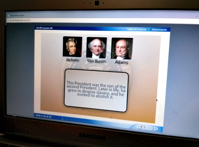 Veritas Press Self-Paced History 1815-Present Quizzes and games