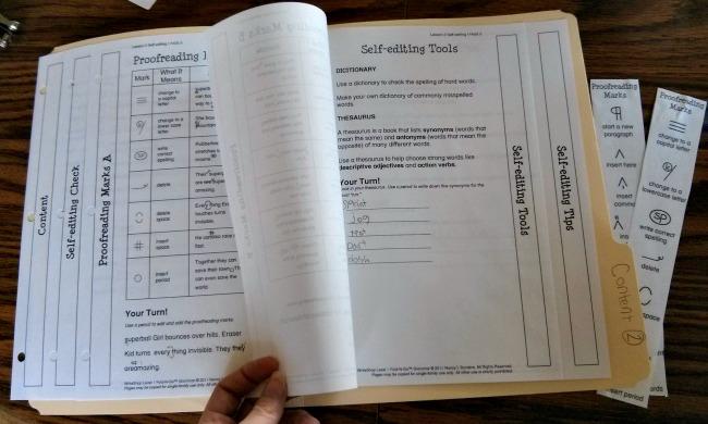 WriteShop Junior Book D Fold-N-Go Grammar