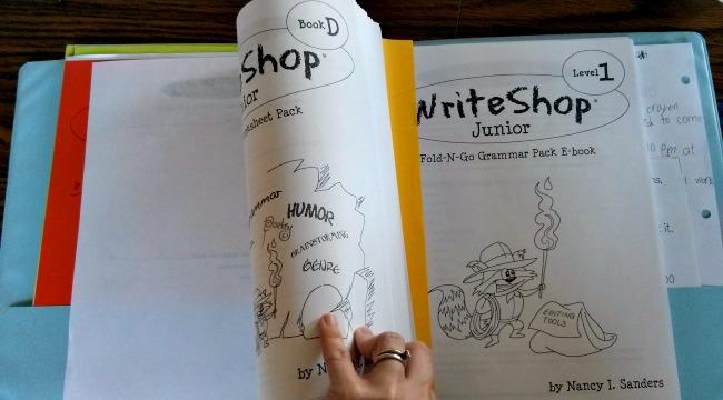 WriteShop Junior Book D PDF Activity Pack