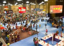 lego kidfest dallas view from above