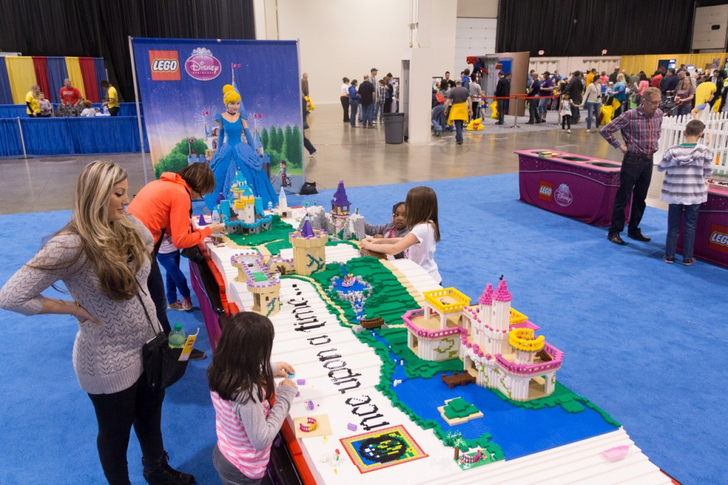LEGO® KidsFest princess story book table