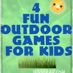 4 Fun Outdoor Games for Kids – Backyard Activities