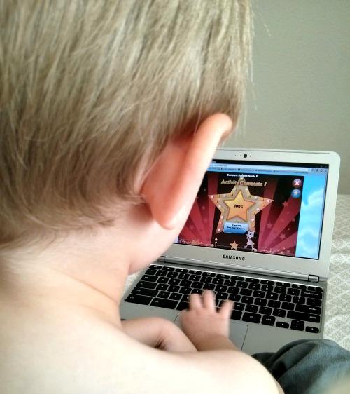 Essential Skills Advantage Activity Complete Screen Online Learning Kindergarten Reading Program