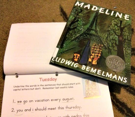 Hewitt Homeschooling Lightning Literature Grade 1 Madeline