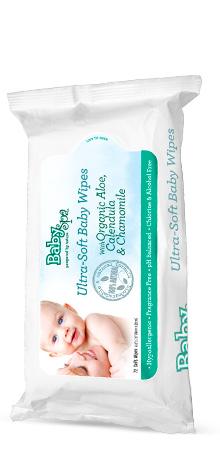 babyspa organic baby wipes