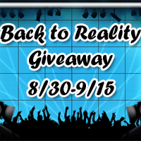Back to Reality Giveaway!