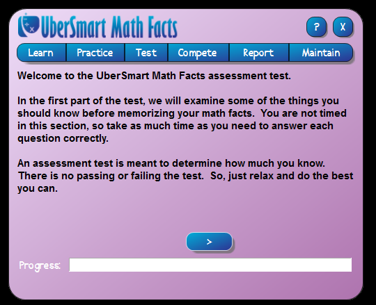 ubersmart math facts assessment