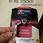 Fight Tooth Sensitivity with Crest Sensi-Stop Strips