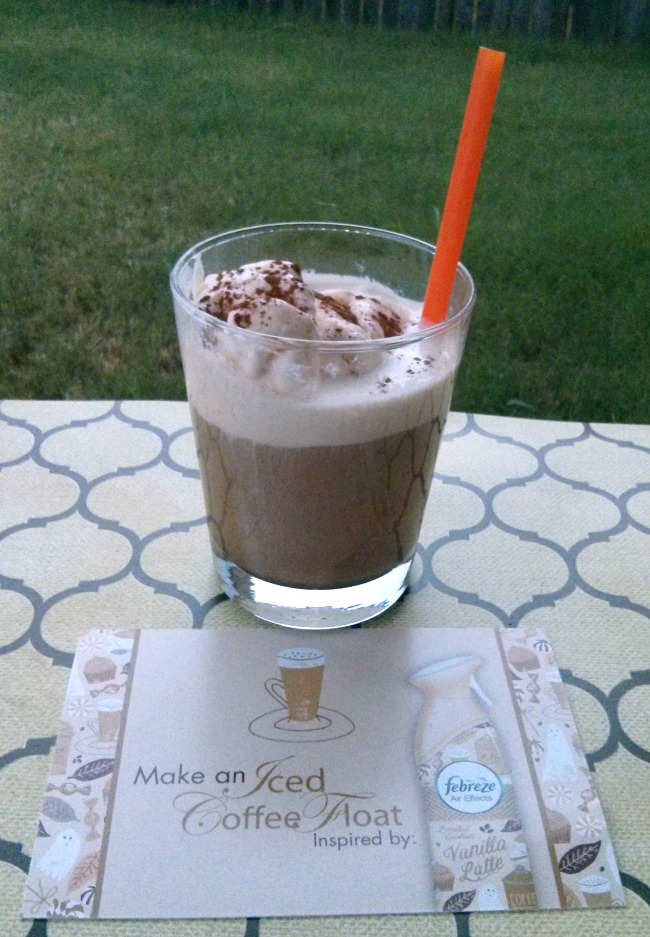 Febreze Home Harvest Collection Iced Coffee Float