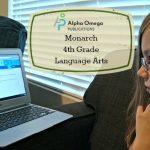 Alpha Omega Publications: Monarch 4th Grade Language Arts