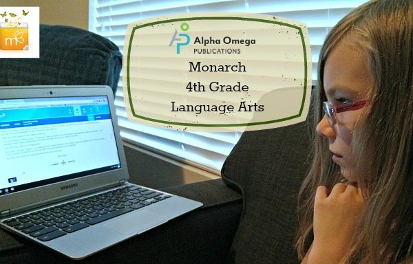 Alpha Omega Publications: Monarch 4th Grade Language Arts