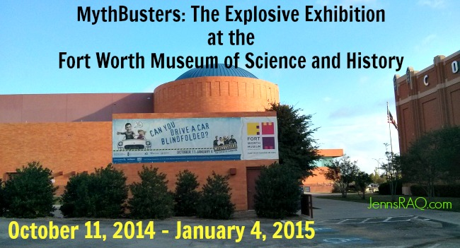 Mythbusters the explosive exhibition in fort worth real and quirky mythbusters the explosive exhibition malvernweather Images