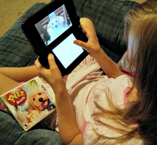 Petz Beach Nintendo 3DS Review Game