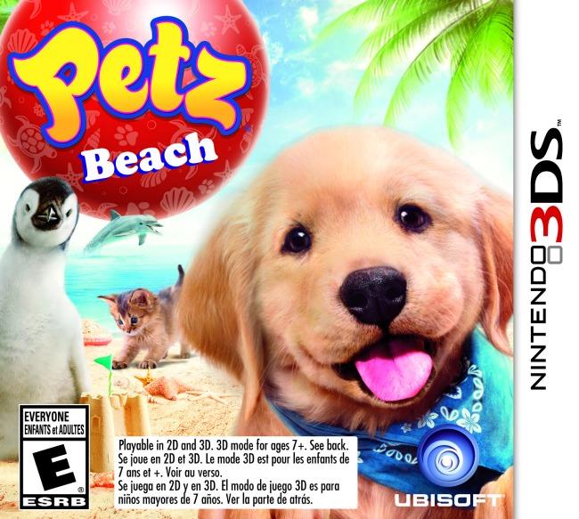 Petz Beach for Nintendo 3DS Game Cover