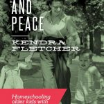 "Homeschooling Multiple Ages with ""Preschoolers and Peace"""