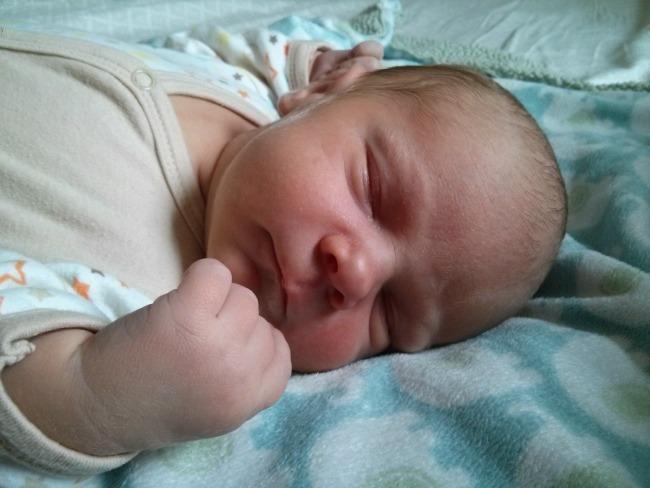 11 pound VBAC baby