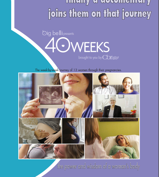 Celebrating Pregnancy with the 40 Weeks documentary