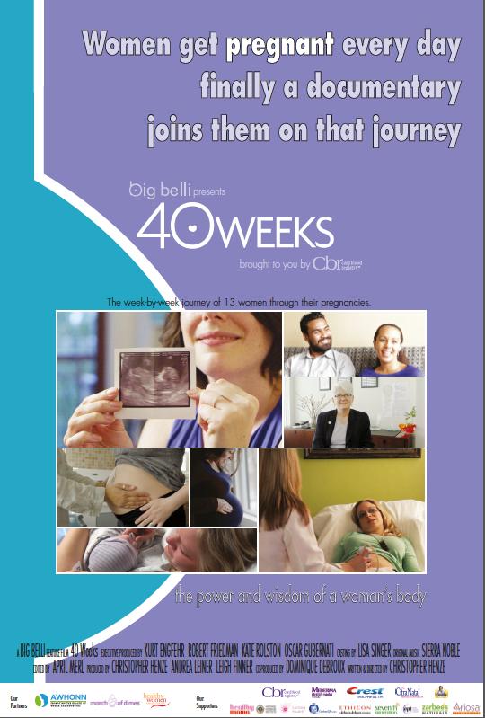 40 weeks movie poster