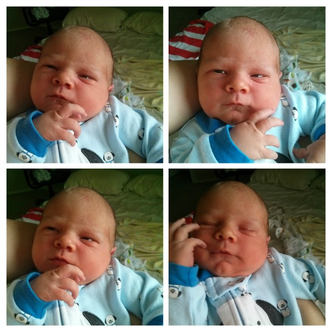 Ethan VBAC baby
