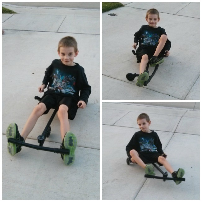 EzyRoller is easy to learn to ride