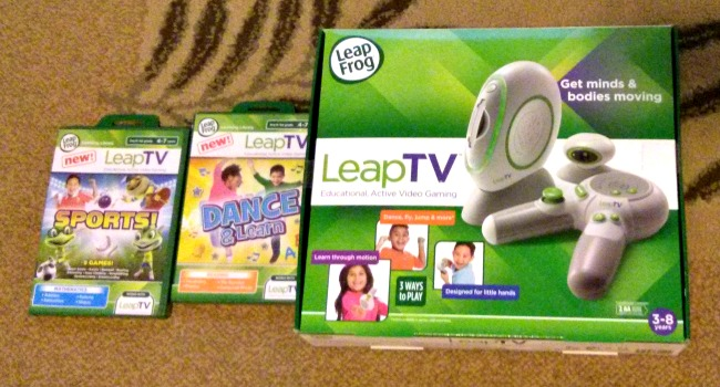 LeapFrog LeapTV Makes a Great Gift for Kids 3-8 Years Old #LeapTV