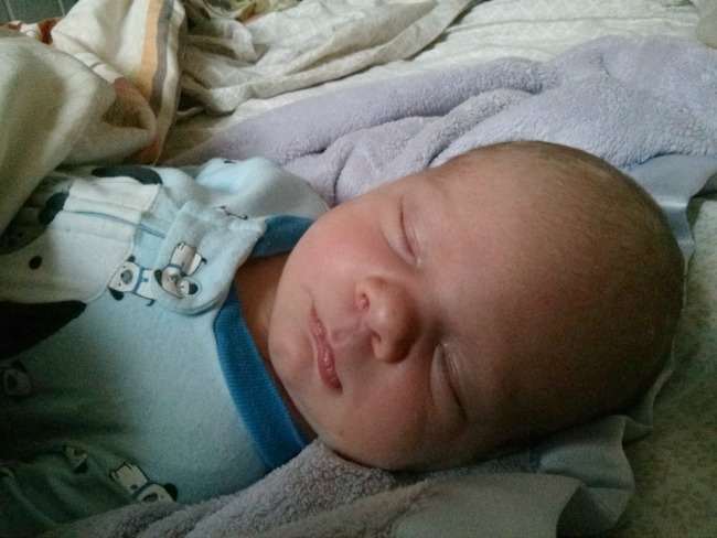 ethan napping