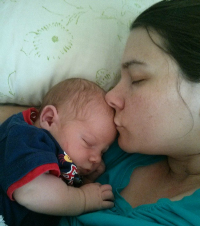 mommy and ethan