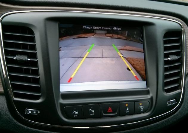 Back Up Camera 2015 Chrysler 200C #DriveChrysler200
