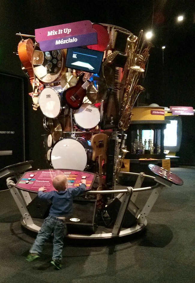 Perot Museum MathAlive Mix It Up Music