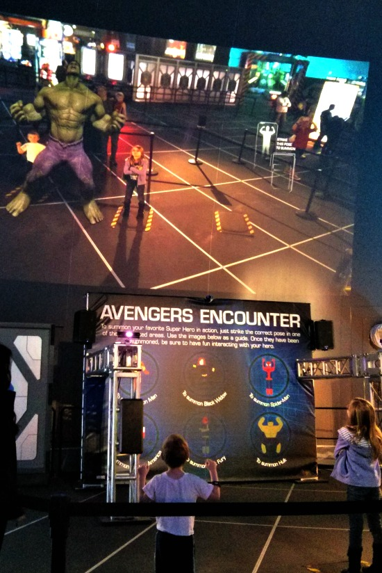 The Marvel Experience Avengers Encounter