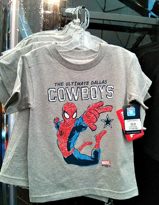The Marvel Experience Cowboys Shirt