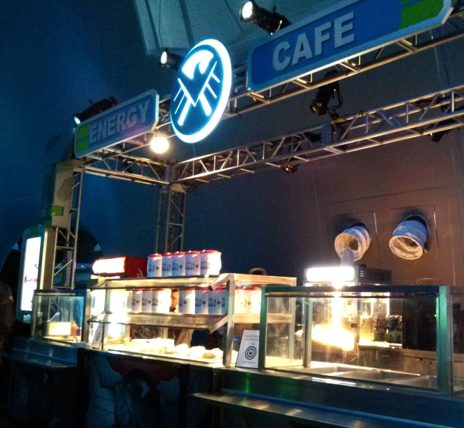 The Marvel Experience Energy Cafe