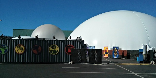 The Marvel Experience Outside