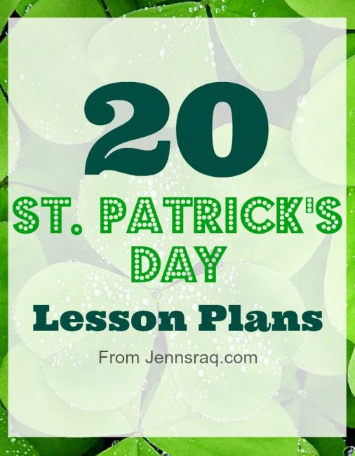 20 St. Patricks Day Lesson Plans - Jennsraq.com