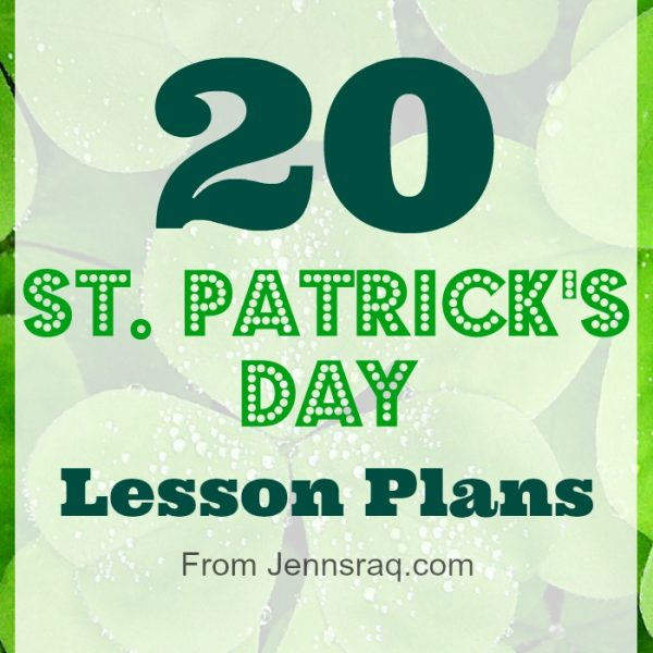 St. Patrick's Day Lesson Plans, Activities, and Ideas