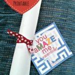 Last Minute Free Printable Valentine (Mazes)