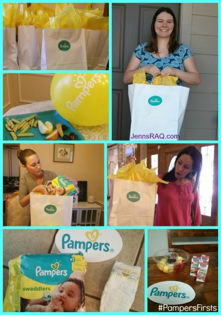 PampersFirsts Party All About Pampers Swaddlers and All of Baby's Firsts #PampersFirsts