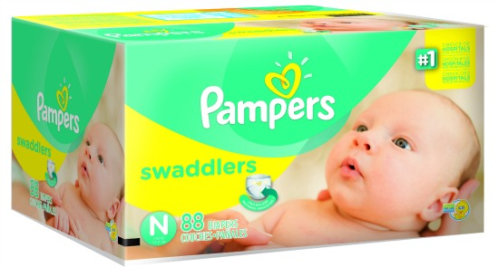 Pampers Swaddlers Newborn Pampers Firsts #PampersFirsts