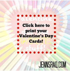 Write Stuff Pencil Valentine - Easy FREE Printable