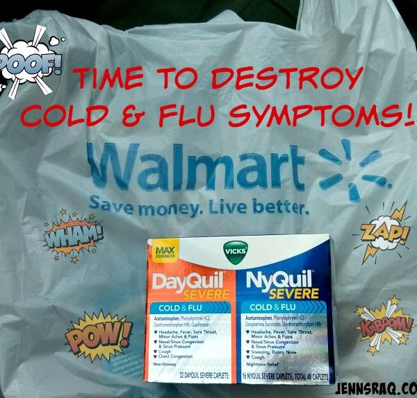Cold and Flu Relief with Vicks DayQuil & NyQuil Severe #ReliefIsHere