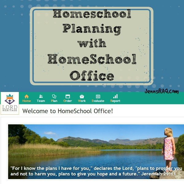Review of HomeSchool Office from Lord Heritage